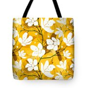 White Flowers Of Early Summer Tote Bag