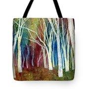 White Forest I Tote Bag
