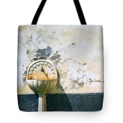 White Fountain Tote Bag