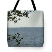 White Freighter Tote Bag