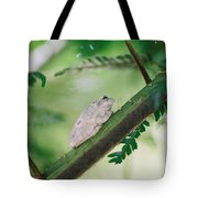 White Frog Tote Bag