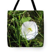 White Glow Tote Bag