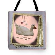 White Goose Series 2 Tote Bag