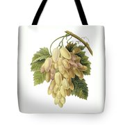 White Grapes Tote Bag