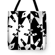 White Gravity Tote Bag
