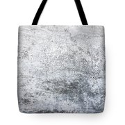 White Grungy Cement Wall Tote Bag