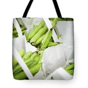 White Handled Bags Containing Fresh Tote Bag
