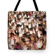 White Hands  - Manos Blancas Tote Bag