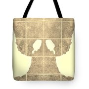 White Hands Sepia Tote Bag