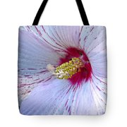 White Hibiscus Beauty Tote Bag