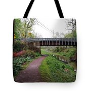 White Horse Canal Tote Bag