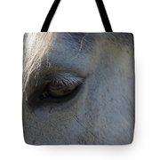 White Horse Tote Bag