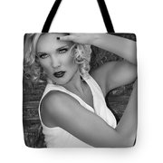 White Hot Palm Springs Tote Bag