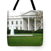 White House Tote Bag