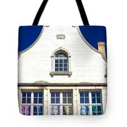 White House In Bruges Tote Bag