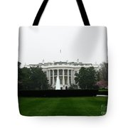 White House In Dc Tote Bag