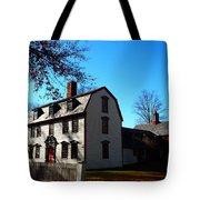 White House Of Deerfield Tote Bag