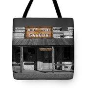 White House Saloon Tote Bag