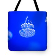 White Jelly Fish Tote Bag