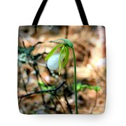 White Lady Tote Bag