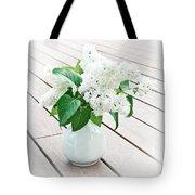 White Lilac Tote Bag