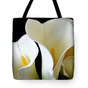White Lily Trio Tote Bag