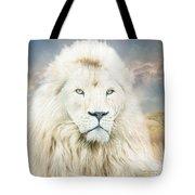 White Lion - Spirit Of Goodness Tote Bag