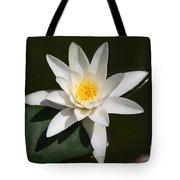 My White Lotus Tote Bag