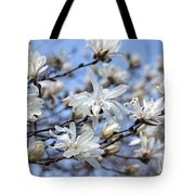 White Magnolia Magnificence Tote Bag