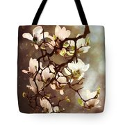 White Magnolias Tote Bag