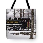 White Mountains Railroad And Train Tote Bag