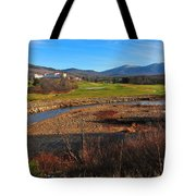 White Mountains Scenic Vista Tote Bag by Catherine Reusch Daley