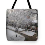White Neighbourhood Tote Bag