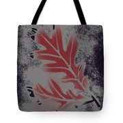 White Oak Leaf Tote Bag