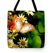 White Peacock Butterfly I I I Tote Bag