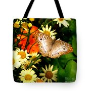 White Peacock Butterfly I V Tote Bag