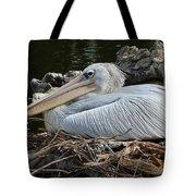 White Pelican 1 Tote Bag