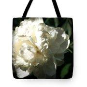 White Peony In Spring Tote Bag