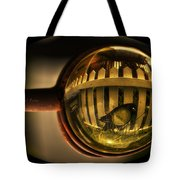 White Picket Fence Tote Bag