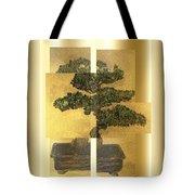 White Pine Bonsai Tote Bag