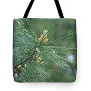White Pine Flower N Spittle Bug Tote Bag