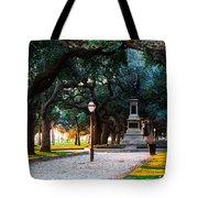 White Point Garden Walkway Charleston Sc Tote Bag