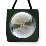 White Reflections Tote Bag