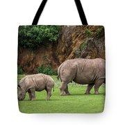 White Rhino 11 Tote Bag
