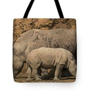 White Rhino 4 Tote Bag