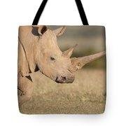 White Rhinoceros Kenya Tote Bag