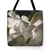 White Rhododendron B Tote Bag