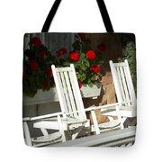 White Rockers Flower 21160 Tote Bag