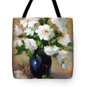 White Rose Elegance Tote Bag
