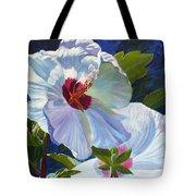 White Rose Of Sharon Tote Bag